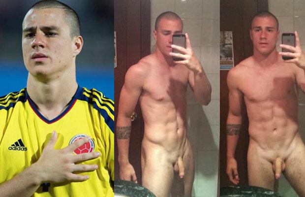 Знаменитые мужчины футболисты попались голыми — pic 7